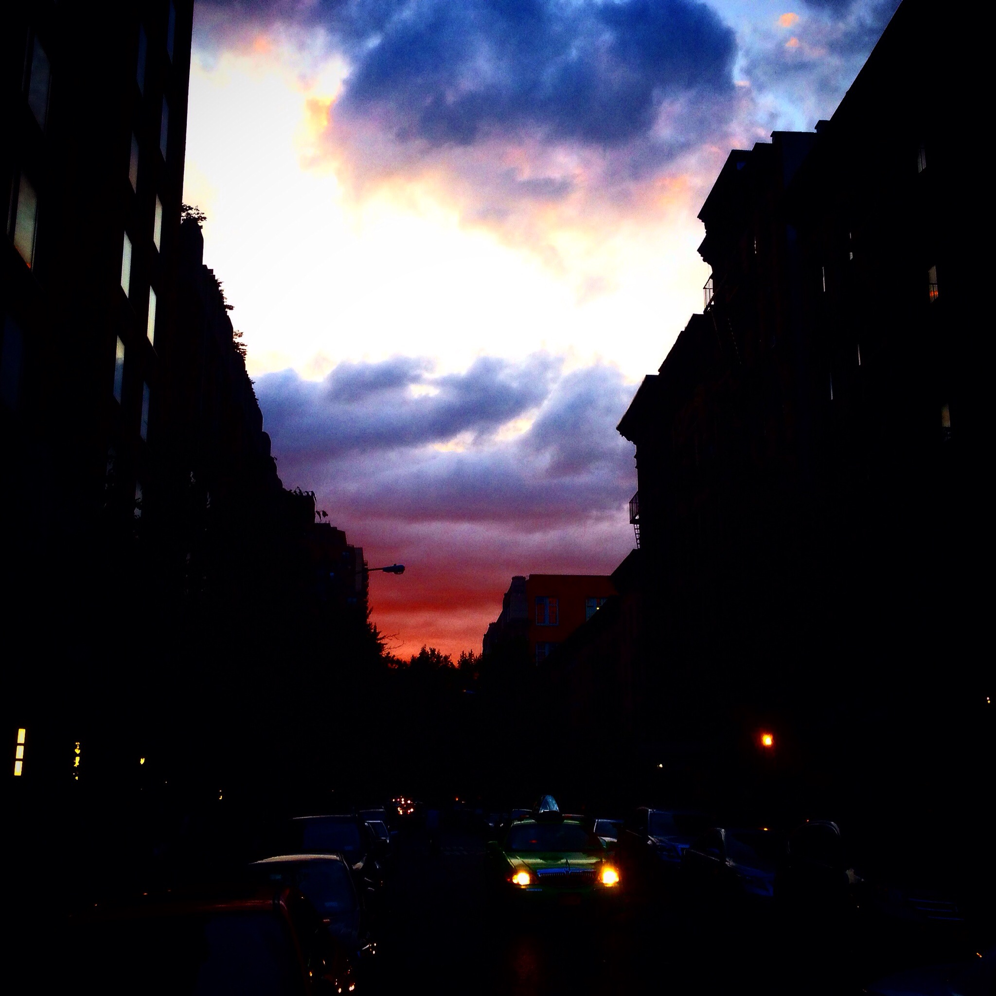 UES sunset